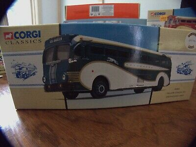 $29.99 • Buy Corgi Classics--Yellow Coach 743 Greyhound Lines 98469 Limited Edition NIB