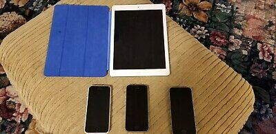 $ CDN108.09 • Buy Iphone Ipad Lot 5s 5c SE Air 1st All Good Condition