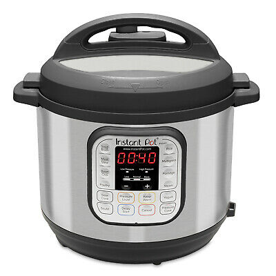 $117.04 • Buy Instant Pot DUO60 6-Quart 7-in-1 Multi-Use Programmable Pressure Cooker