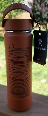 $66.50 • Buy Hydro Flask- Limited Hawaii Edition-Red Dirt 24oz Wide Mouth