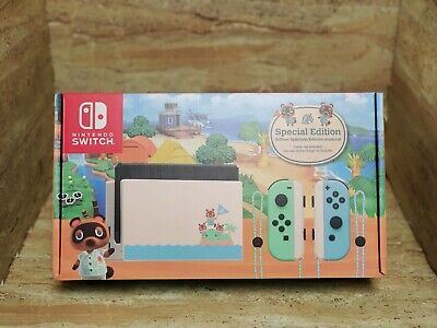 $ CDN1000 • Buy Animal Crossing: New Horizons Nintendo Switch Console Special Edition Ships Now!
