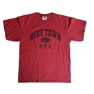 $ CDN60.92 • Buy VIntage Nike Town USA T-shirt Men's Size M Made In USA White Tag