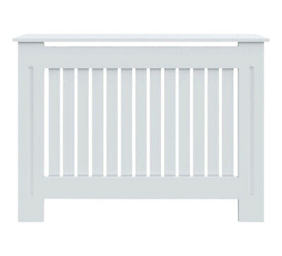Radiator Cover White Painted Traditional Cabinet MDF Wood Furniture Grill Modern • 29.99£