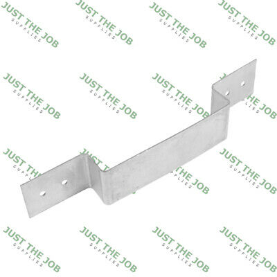 £8.50 • Buy Fence Panel Security Brackets - Galvanised - 233 X 40mm - Fits 4  (100mm) Posts