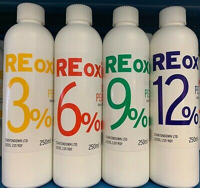 Rexoxide Salon Creme Peroxide 250ml 3% 6% 9% 12% • 3.99£