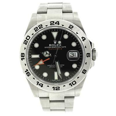 $ CDN12363.26 • Buy Rolex Explorer II 42MM Black Dial Mens Oyster Watch 216570 Box Papers