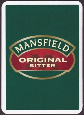 £1.31 • Buy Playing Cards Single Card Old Wide MANSFIELD BITTER Brewery Beer Advertising Art