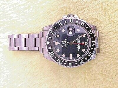 $ CDN13201.32 • Buy Don't Miss This Opportunity, To Get This Beautiful Rolex GMT I Master, 1675
