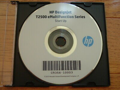 $100 • Buy Original Start-Up Disk For HP DesignJet T2500 Plotters.Drivers,Manuals,DVD