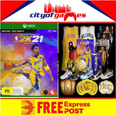 AU124.95 • Buy NBA 2K21 Mamba Forever Edition Xbox One Game Brand New In Stock