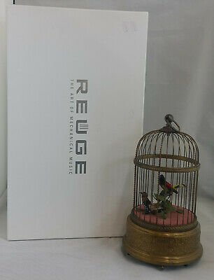 Reuge Singing Birds The Art Of Mechanical Music Switzerland Working Order Boxed • 3,000£