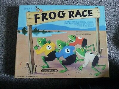 Boxed Spears Frog Race Party Game 1973 • 4.50£