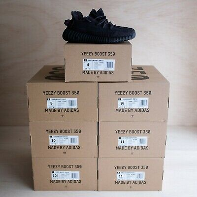 $569.99 • Buy Adidas Yeezy Boost 350 V2 Static Black (Non-Reflective) Size 6, DS Brand New