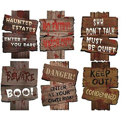 $ CDN27.48 • Buy Halloween Decorations Yard Signs Stakes Beware Props Outdoor Scary Zombie Graves