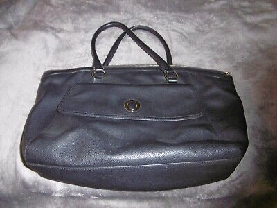 AU10 • Buy Oroton Black Leather Work Tote  Bag - Defects - See Photos