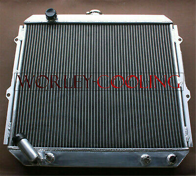 AU224 • Buy 2 Core Aluminum Radiator For Mitsubishi Pajero NH NJ NL NK 3.5L V6 Petrol 94-00