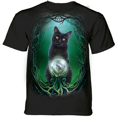 $26.95 • Buy Cat Rise Of Witches Magic Fantasy Kittens Cute Cotton Cats Mountain T-Shirt M-4X