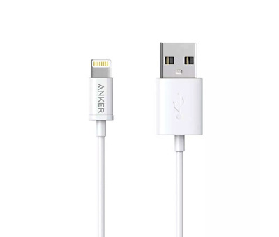 AU12 • Buy Anker PowerLine Lightning Cable - 0.9m - White - A7101H22