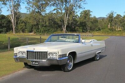 AU39000 • Buy 1970 Cadillac DeVille Convertible BGS Classic Cars Ford Lincoln Chevrolet Rolls