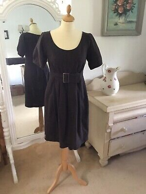Ti Mo Grey Dress With Pleats Size S New Without Tags • 45£