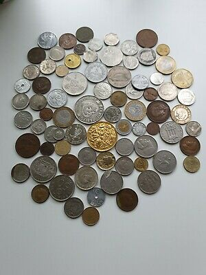 Job Lot Of Old Antique Foreign World Coins Collection Coin No Reserve • 11£