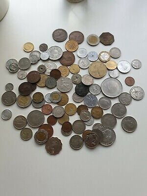 Job Lot Of Old Antique Foreign World Coins Collection Coin No Reserve • 2.20£