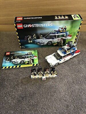 Lego Ghostbusters Ecto-1 21108 Complete With Box, Instructions, Baggies & Spares • 57£