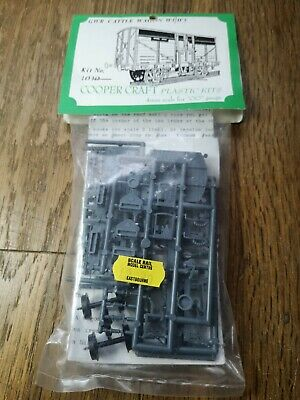 Coopercraft 1010 GWR Cattle Wagon W1/W5 Unmade Sealed Plastic Kit 4mm Scale • 18.99£