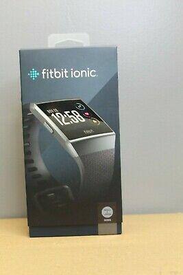 $ CDN249.96 • Buy Fitbit - Ionic Smartwatch Color:Charcoal/Smoke Gray Size Included: Small + Large