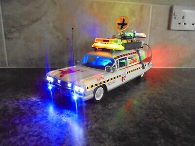 Custom Playmobil Ghosbusters Ecto 1a With Working Lights And Siren 1:18 Car • 49.99£