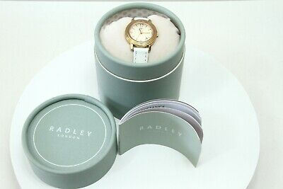 $50.64 • Buy Radley -London - Rose Gold Watch - Boxed -Ladies - Date - Lovely - White Leather