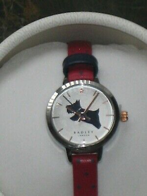 $56.96 • Buy RADLEY London Red Star Leather Strap Analogue Watch * NEW * RRP £90