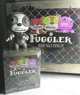 $ CDN12 • Buy Fuggler Funny Ugly Monster Mystery Mini Vinyl 3' Figure Gray Brown Sloth