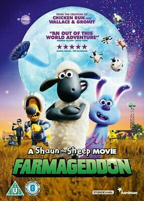 A Shaun The Sheep Movie - Farmageddon (DVD, 2020) • 6£