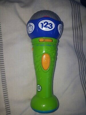 Leapfrog Baby Bilingual Musical Toy Microphone English & French. Great Condition • 5.50£