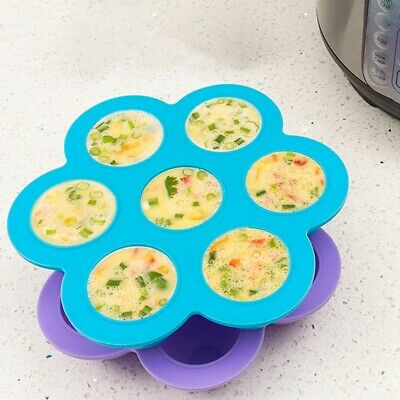 $10.42 • Buy [2 Pack] Silicone Egg Bites Molds For Pot-Instant Accessories Reusable Stor M0Z1