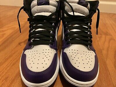 $250 • Buy Air Jordan 1 Retro High OG Court Purple 2.0 Size 9.5 Pre-owned