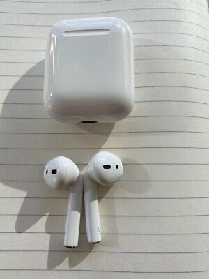 AU165 • Buy Apple AirPods 2nd Generation With Charging Case - Barely Used, Purchased 23 Jun
