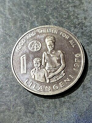 $3.33 • Buy 1976 Swaziland 1 Lilangeni Coin  Fao