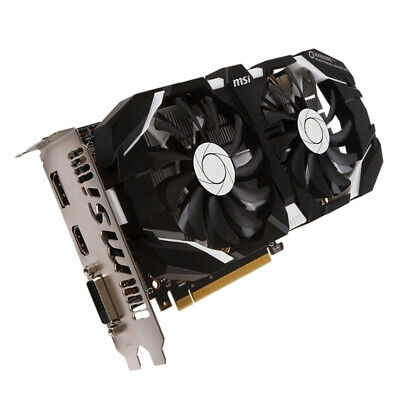 $ CDN203.95 • Buy Original MSI NVIDIA GeForce GTX 1060 192bit 3 GB Video Card 3GD5 DVI 1152sp HDMI