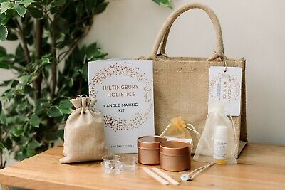 Candle Making Kit With Soy Wax • 22£