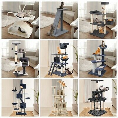 AU73.99 • Buy I.Pet Cat Tree Trees Scratching Post Scratcher Tower Condo House Furniture Wood