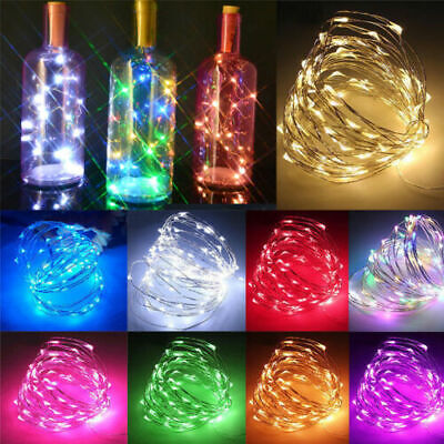 LED String Fairy Lights Battery Micro Wire Home Decor For Party/Christmas/Garden • 4.99£