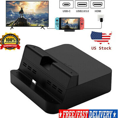 $16.88 • Buy Portable TV Docking Station Charging Dock Replacement For Nintendo Switch