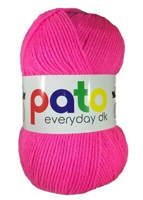 Pato Everyday DK Wool 100g Multiple Colours • 2.90£