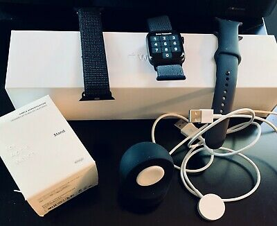 $ CDN541.34 • Buy Apple Watch Series 5 44mm Space Gray Black Band - With Extras! - (MWVF2LL/A) GPS