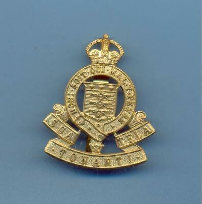 Royal Army Ordnance Corps.post 1947 Pattern.brass Army Cap Badge • 6£