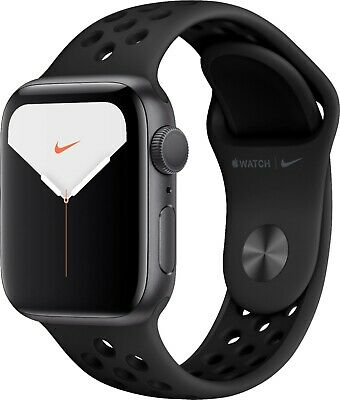 $ CDN543.43 • Buy Apple Watch Series 5 Nike 40mm Space Gray Aluminum Case With Anthracite/Black...