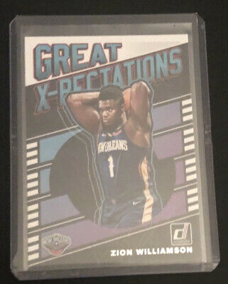 $3.25 • Buy 2019-20 Donruss Zion Williamson Great Xpectations Rookie