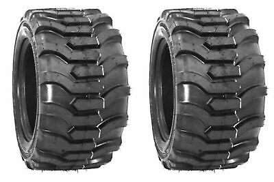 £99.15 • Buy Two 18X8.50-10 Lawn Tractor Tires Lug R-4 R4 PAIR 18x8.5-10 Loader Skid